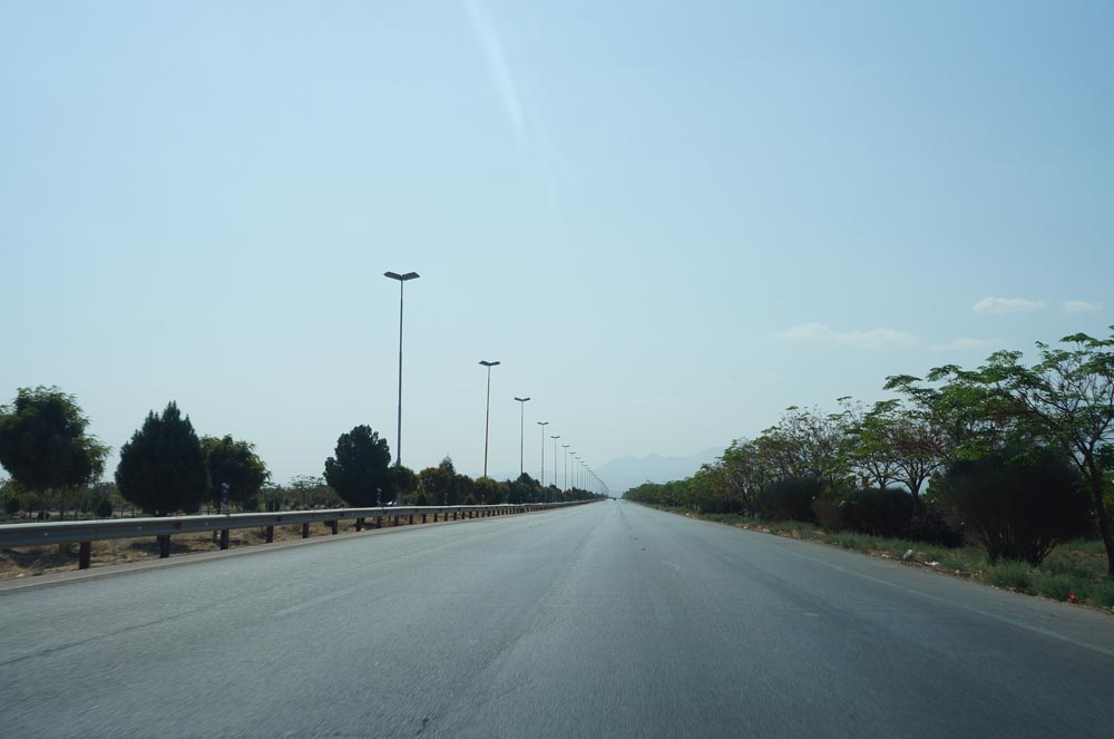 Road from Kerman to Mahan