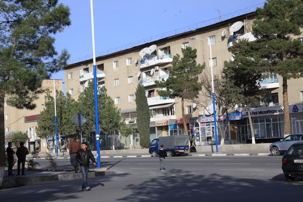 Streets of Panjakent