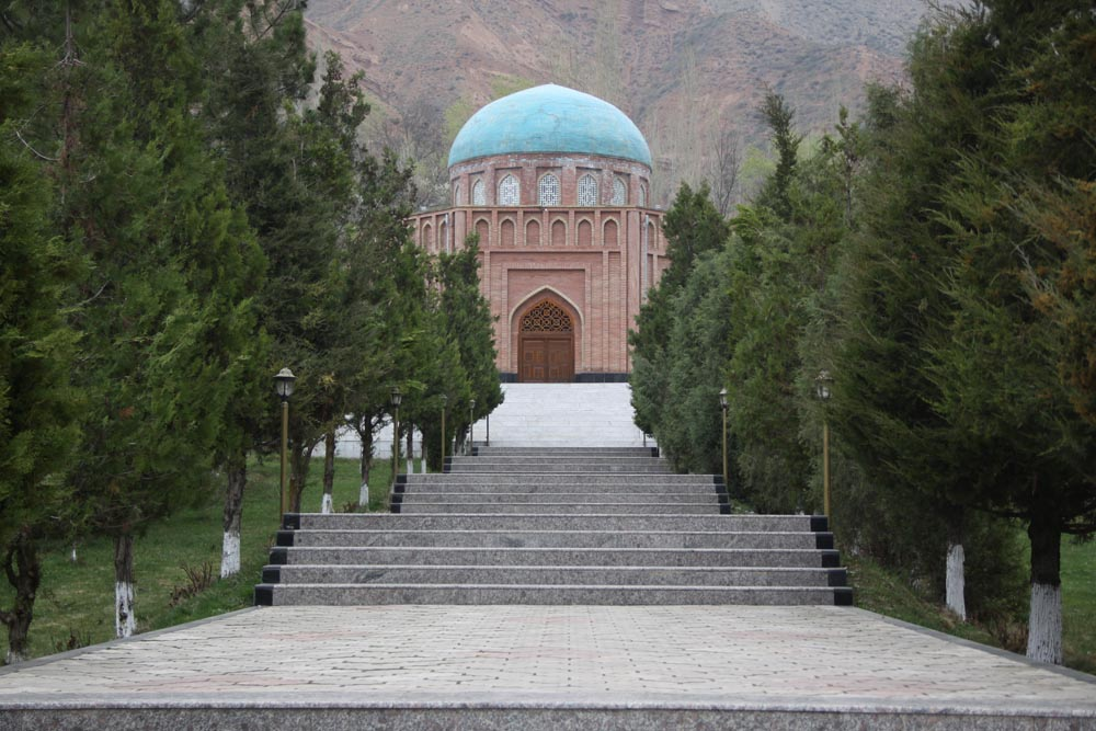 Roudaki Mausoleum at Panjrood