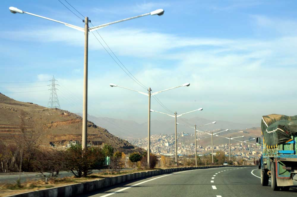 Road from Hamadan to Sanandaj