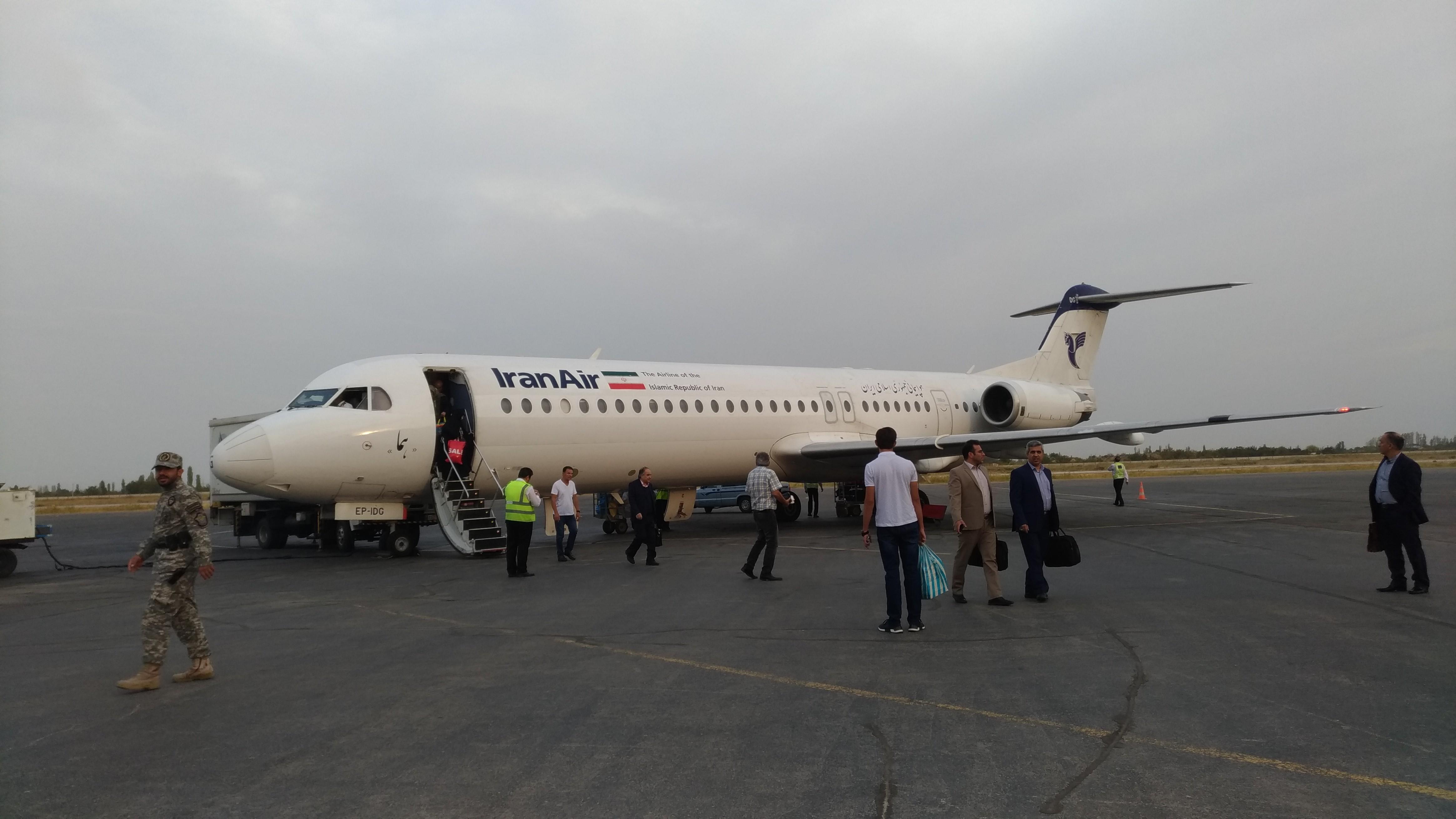 Arriving in Urmia